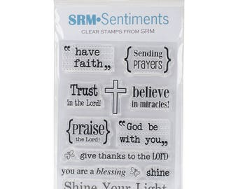 Bible Journaling Clear Stamps