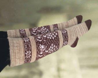 Wool over knee socks, Merino hight socks, Socks merino wool, Womens knee socks, Over the knee socks, Warm merino socks, Women's winter socks