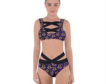 Majora Bandage Bikini - Zelda swimsuit Majoras Mask Bikini Zelda bandage bikini Video Game swimsuit Majora swimsuit Nerdy Swimsuit