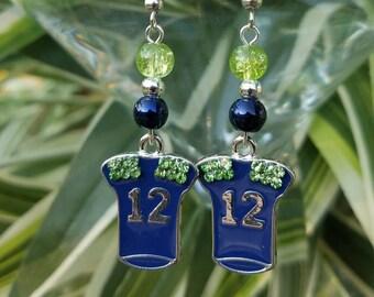 Seahawks #12 Bling Jersey
