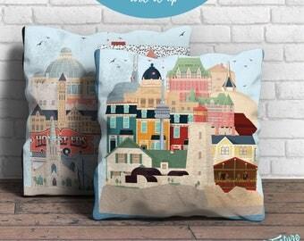 Hello Canada - Square Pillow