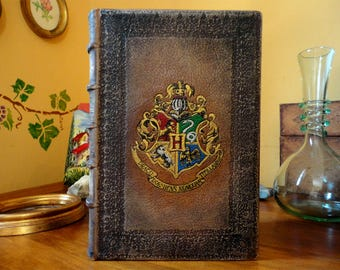 Transform your favorite book to leather bound book-Recovered book-leather bound harry potter-leather bound Tolkien book-leather bound book
