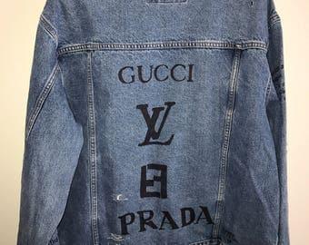 Custom Designer Denim Jacket