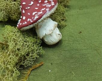 Toadstool Pendant Necklace