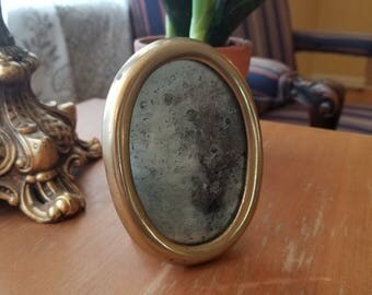 Brass and Silver Mirror