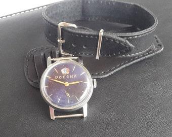 Men's watch Pobeda,Men's Vintage Watch,Pobeda Victory,Mechanical USSR watch,watch him,Soviet watch 80s,wrist watch