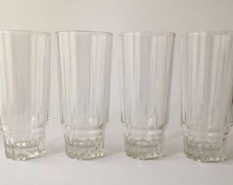 4 Vintage Cocktail Glasses