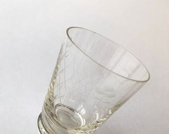 Vintage Wine glass from the 1930s