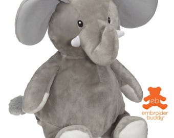 Personalised Plush Animal – Elford Elephant