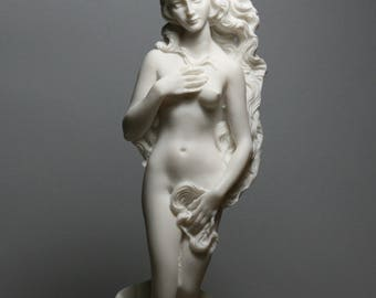 Goddess Venus Rising From the Sea Statue Sculpture Handmade in Greece 9.84in - 25cm **Free Shipping & Free Tracking Number**