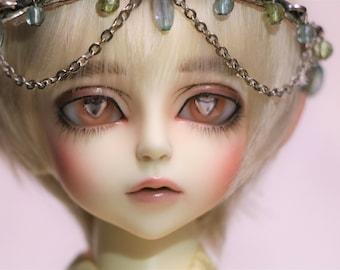 Peach Heart- B-Grade Resin BJD Eyes (14mm)