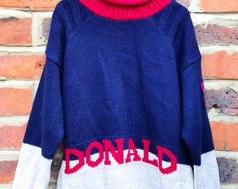 The Donald Duck Sweater