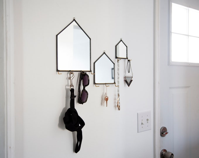 Featured listing image: Modern Mirror House Wall Organizer - 3 Sizes