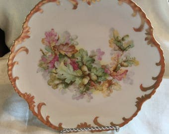 Z. S. & Co Royal Munich Marseille 8 5/8 inch Plate / 1880-1918