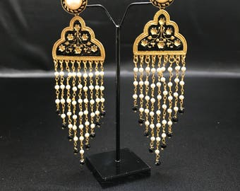 Indian Earrings - Bollywood Earrings - Indian Jewelry - Bollywood Jewelry - Pakistani Jewelry - South Indian Jewelry - Indian Wedding -