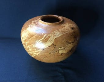 Spalted Beech Hollow Form Bowl