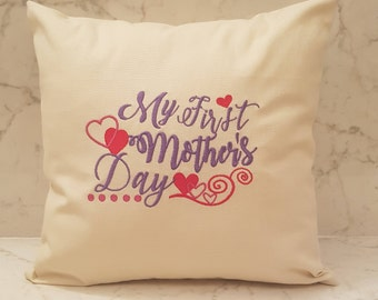My First Mother's Day cushion