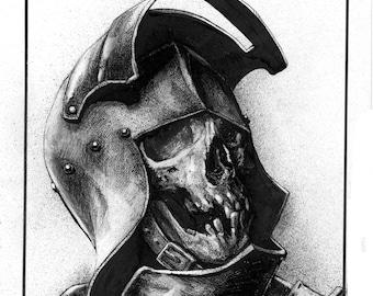 Knight Skull