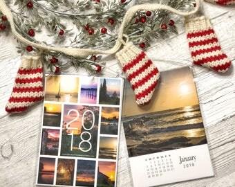 2018 Sunset Photo Calendar (5x7)