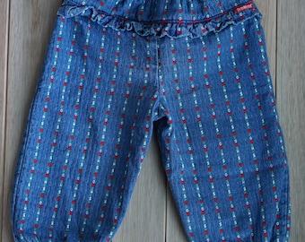 OshKosh B'Gosh Denim Bubble Fancy Pants