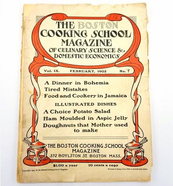 The Boston Cooking School Magazine of Culinary Science & Domestic Economics Vol. IX, No. 7, February, 1905