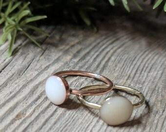 Circle Of Love (silver) Breastmilk Ring