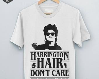 Harrington Hair Stranger Things 2 Shirt, Steve Harringtons Hair, Steven Harrington, Stranger Things Shirt, Joe Keery, Season 2, Harrington