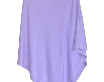 Cashmere Poncho cashmere wool blend - Woman poncho blended yarns