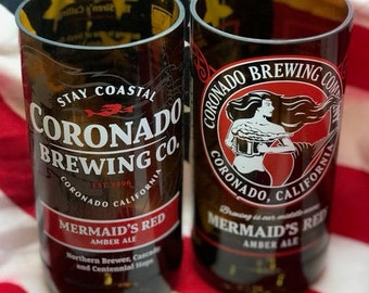 Craft Cups - Upcycled Beer Bottle Cups Coronado Brewing Company
