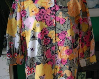 Multi coloured Waldeman blouse size 12- 14