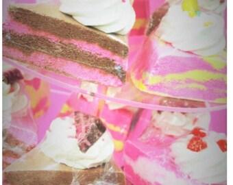 Cake Slice Bathbombs