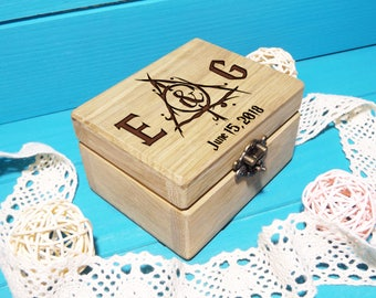 Ring Bearer Box Wedding Ring Box Harry Potter Ring Box Harry Potter Ring Holder Pillow Ring Bearer Box Harry Potter Wedding Gift Custom Box
