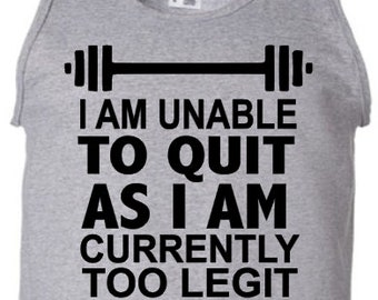 I'm unable to quit shirt