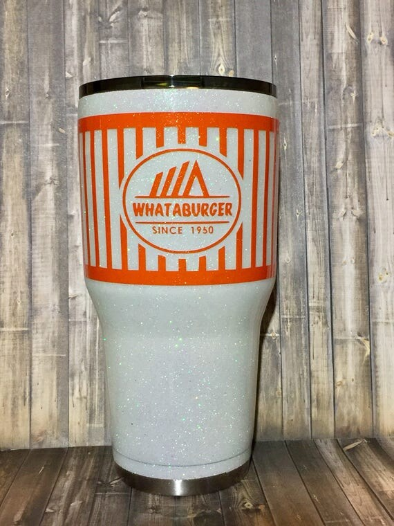 whataburger glitter yeti whataburger yeti whataburger
