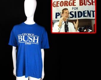 NOS 1988 George Bush Campaign Shirt (Large)