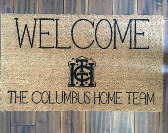 Listing for LYDIA ONLY-Columbus Home Team Welcome Mats