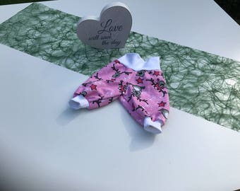 """Baby bloomer for premature babies, baby bloomers Preemie or """"Minis"""""""