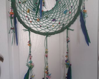 Shells and Pearls Dreamcatcher