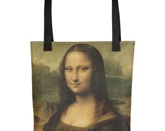 t1 - Leonardo Da Vinci - Mona Lisa - Tote bag
