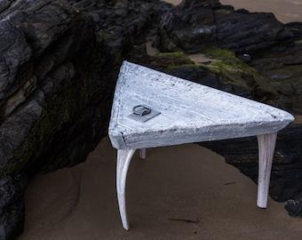 Barge side table. Marinera. Nautical
