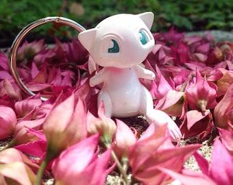 Handmade Mew Mythical Pokemon Key Chain