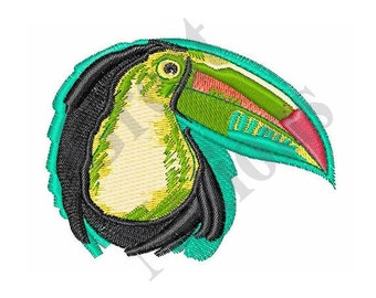 Toucan Bird - Machine Embroidery Design