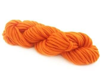 Super Chunky Merino Yarn - CLEMENTINE - 50 gram skein
