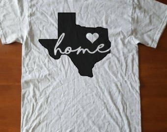 State Love Custom Graphic T-Shirt