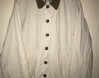 Vintage Corduroy Collar Barn Jacket