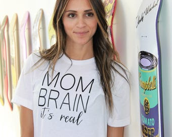 Mom Brain Shirt, Funny Mom Shirt, Gift For Mom, Mom Life Is The Best Life, Mom Life, Mom Tank, Mom Shirt, Mommy & Me, The Struggle Is Real