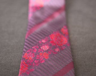 Tie / silk tie / vintage / czaqua / made in italy