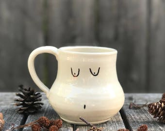 Pear Shaped Lady Mug