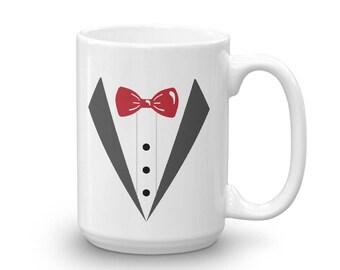 Faux Tux Jacket Bachelor's Funny Mug