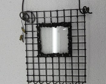 Wire Fishing Picture Frame